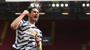 Edinson Cavani blijft Manchester United jaar langer trouw