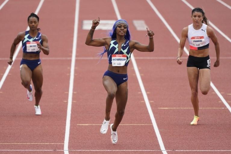 """Flamboyante Amerikaanse sprintster doet alarmbellen afgaan met fantastische tijden op 100 meter: """"Ik wil geschiedenis schrijven"""""""