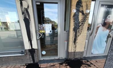 Vandalen bekladden handelszaken in Bocholt met zwarte pek