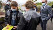 Weyts hoopt dat nog meer scholen overgaan van afstands- naar contactonderwijs