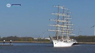 De Tall Ships komen volgend jaar naar Antwerpen