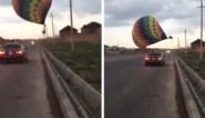 Luchtballon vliegt tegen elektriciteitskabels en crasht: 4.000 gezinnen meer dan 24 uur zonder stroom
