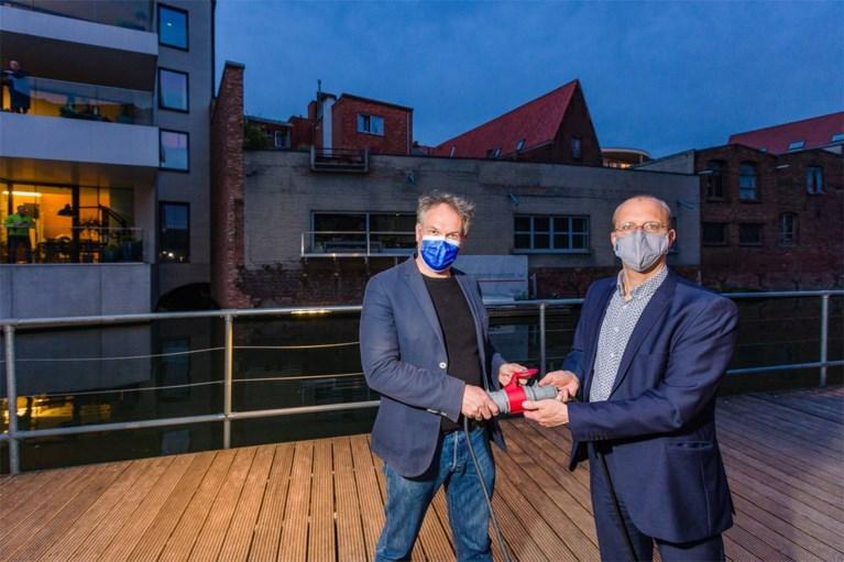 Nieuwe ledlampen verbeteren zichtbaarheid op Mechels Dijlepad