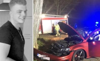 """Tibau (18) komt om in auto vol vrienden, chauffeur was al eens veroordeeld voor dronken rijden: """"Je was een gouden jongen"""""""