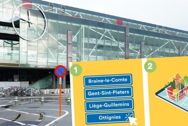 Groenten afhalen in station Gent-Sint-Pieters: NMBS start met proefproject