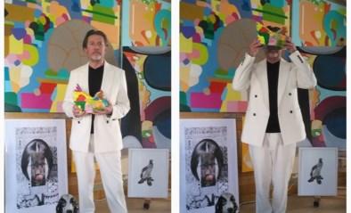 Surrealist Rudi Snauwaert stelt tentoon met nostalgische collages en lockdownschilderijen