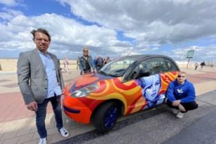 """Kunstenaars gebruiken wagen als kleurrijk canvas én eerbetoon aan Brigitte Bardot: """"Ideaal voor op Instagram"""""""