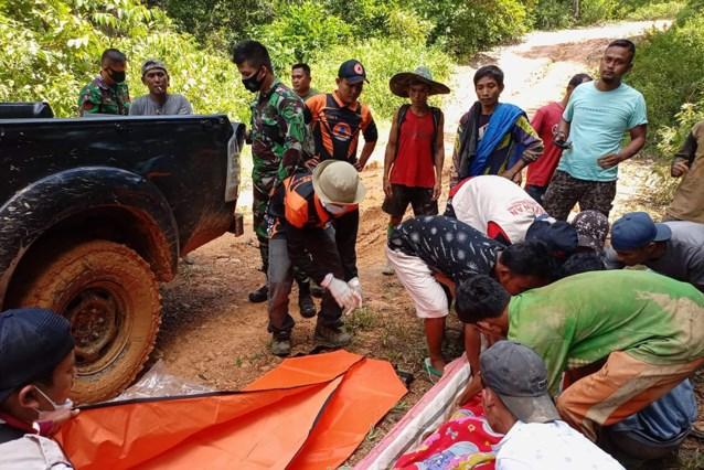 Minstens zeven doden na aardverschuiving in Indonesië