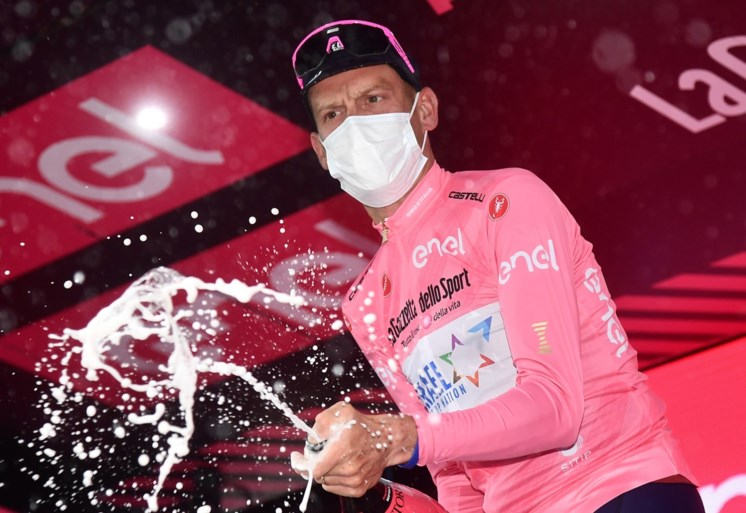 "REACTIES. Louis Vervaeke is derde na eerste Giro-bergrit: ""Ik liet me verleiden om te nerveus te koersen"""