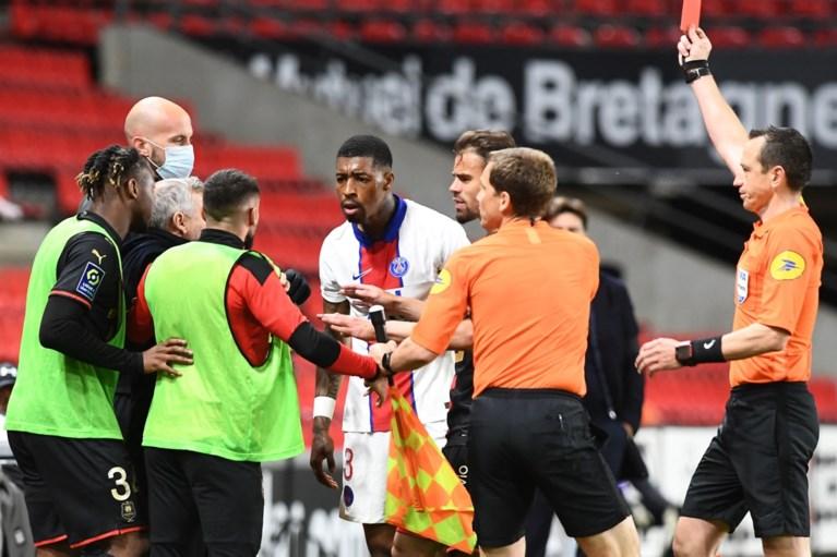 PSG-verdediger Kimpembe krijgt drie speeldagen schorsing na tackle op Jérémy Doku