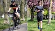 Onze collega's nemen het tegen elkaar op: de ene fietst en de ander loopt, maar wat kunnen ze van elkaar leren?