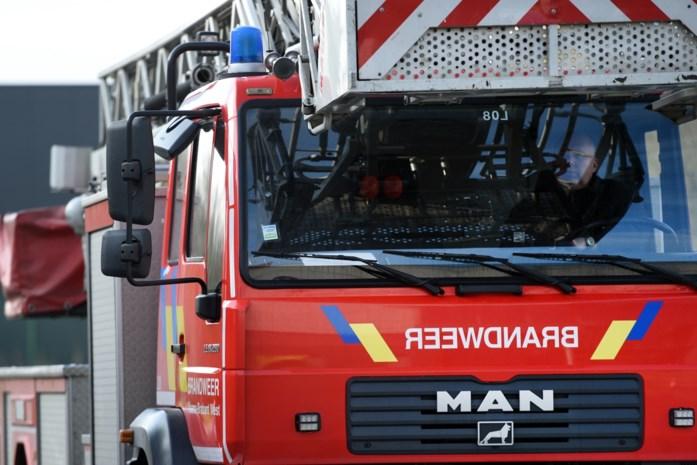 Bewoonster probeert brand zelf te blussen en raakt gewond