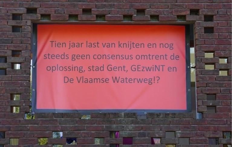 Extra water moet venijnige 'Scheldemug' wegspoelen uit Gentbrugge