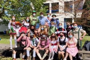 Oktoberfest bij laatstejaars Bernarduscollege