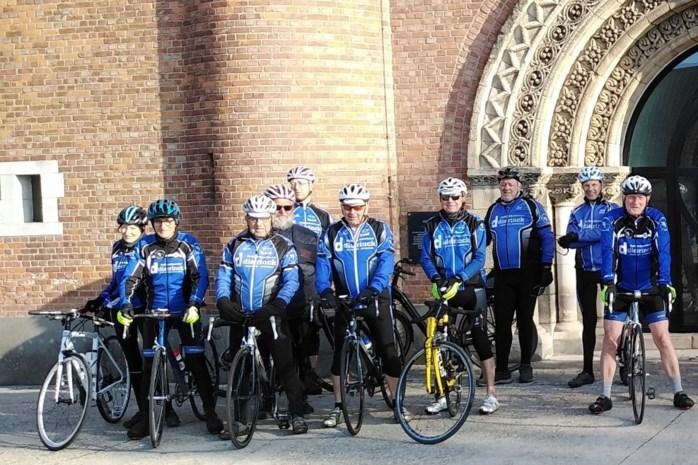 Ledecrossers zitten weer op de fiets