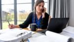 Thuiswerken is langer werken: helft Belgische werknemers klopt meer uren nu ze niet meer naar kantoor gaan
