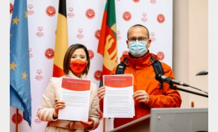 Stad ondertekent charter van Special Olympics