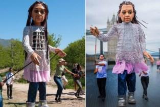 """'Kleine' reuzin Little Amal komt naar Antwerpen en Borgerhout: """"Iedereen welkom in de stad"""""""