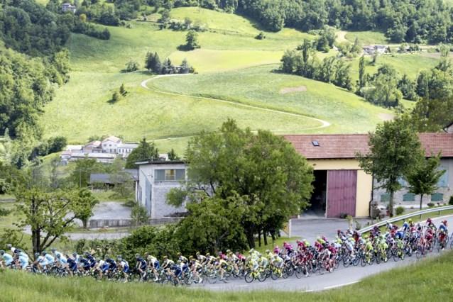 Alle Giro-renners testen negatief op COVID-19