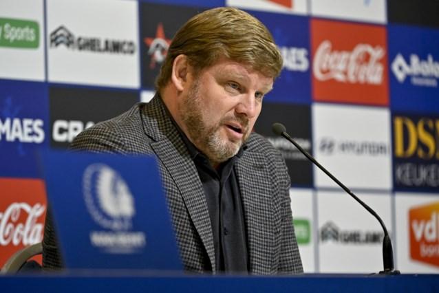 """Hein Vanhaezebrouck vraagt (opnieuw) scherpte en focus bij AA Gent: """"Ik mis te vaak die drang om te winnen"""""""