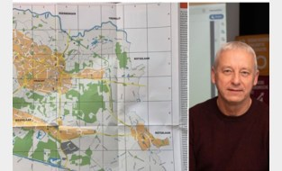 Oeps: op nieuw stratenplan lijkt gemeente beetje kleiner