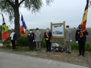 Herdenkingsmonument voor in Meer neergestorte Franse piloot ingehuldigd