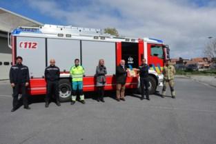 Welverdiende attentie voor Middelkerks brandweerkorps