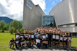 Oudste wielerclub van ons land demarreert voor Kom op tegen Kanker