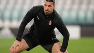 Milan moet geblesseerde Zlatan Ibrahimovic missen in strijd om Champions League-voetbal