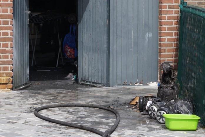 Hoverboard vliegt in brand in garage, buurman voorkomt erger