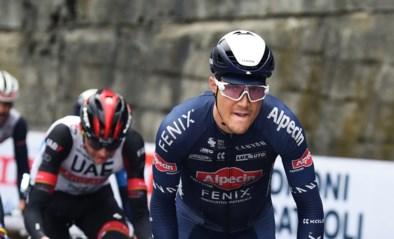 "Kan Louis Vervaeke vandaag de roze trui pakken in de Giro? ""Zeg nooit nooit"""