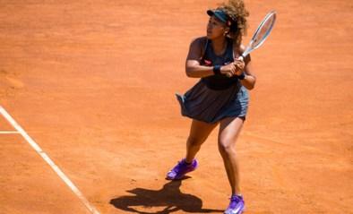 Na Mertens druipt ook Naomi Osaka meteen af op WTA Rome