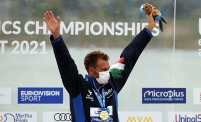 EK zwemmen: Logan Vanhuys eindigt als 19e in 5 km openwaterzwemmen