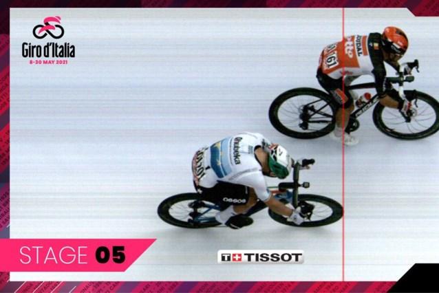 De cijfers achter de machtssprint van Caleb Ewan in de Giro: Tim Merlier ontwijken en pieken aan 70km/u