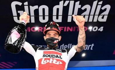 Opmerkelijk: ritwinnaar Caleb Ewan wist in Giro letterlijk niet waar hij was