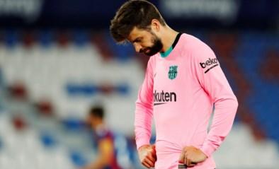 Barcelona geeft zege weg bij Levante en laat leidersplaats liggen