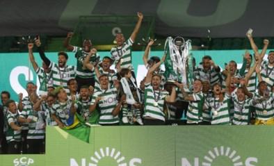 Sporting kroont zich voor het eerst in 19 jaar tot kampioen van Portugal