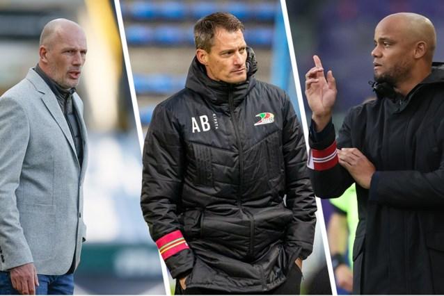 Alexander Blessin, Philippe Clement en Vincent Kompany genomineerd voor prijs van 'Coach van het jaar'