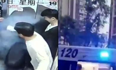 Elektrische fiets vat vuur zodra man in lift stapt: meerdere gewonden na ontploffing