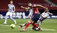 Man in vorm Yannick Carrasco houdt Atlético Madrid met goal op Spaanse titelkoers