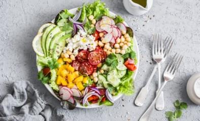 Byebye saaie slakom: een salade serveren kan een pak origineler