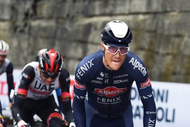 """Kan Louis Vervaeke vandaag de roze trui pakken in de Giro? """"Ik hoop op een mirakel"""""""