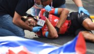 """Kritiek op gevaarlijk Giro-parcours na zware valpartijen: """"Wereldrecord rotondes nemen is verbroken"""""""