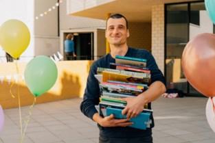 Christophe De Turck is Beste Boekenmeester 2021