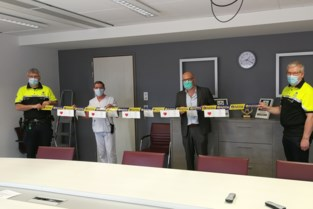 Politie dankt ziekenhuispersoneel voor inzet tijdens corona