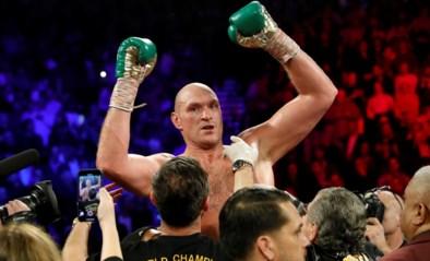 Joshua en Fury boksen in augustus in Saoedi-Arabië om wereldtitels