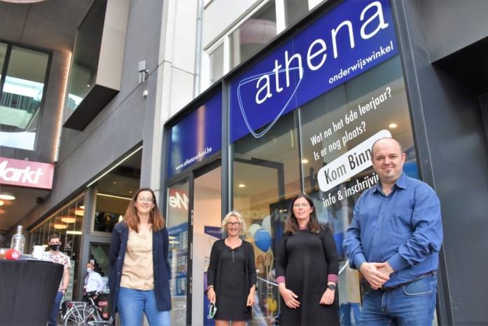 """Athena opent eigen onderwijswinkel in centrum: """"Ouders en leerlingen hebben nood aan fysiek contact met de school"""""""