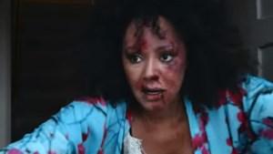 Ex-Spice Girl Mel B verschijnt bont en blauw in filmpje