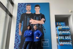E-fit concept van Evy Gruyaert verwelkomt sporters in Sint-Jobstraat