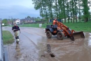 Intense buien trekken over Limburg: wateroverlast in Tongeren en Voeren